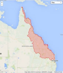 Great Barrier Reef Catchment Area