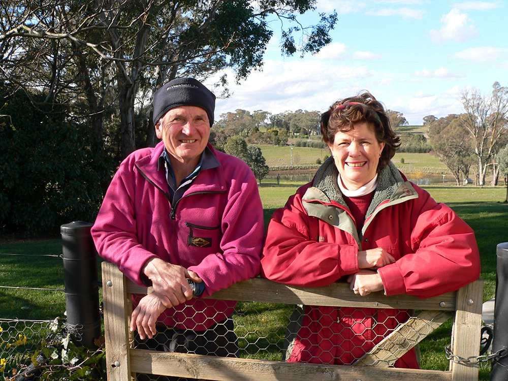 A love of trees and the natural environment is a focus for David and Jane Major on their Yass fine-wool growing property Yurrah.